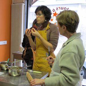 Cours de cuisine à la Villa Rabelais : Nutrition et Partimoine Gastronomique !