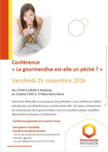 conference-gourmandise-amboise-affiche