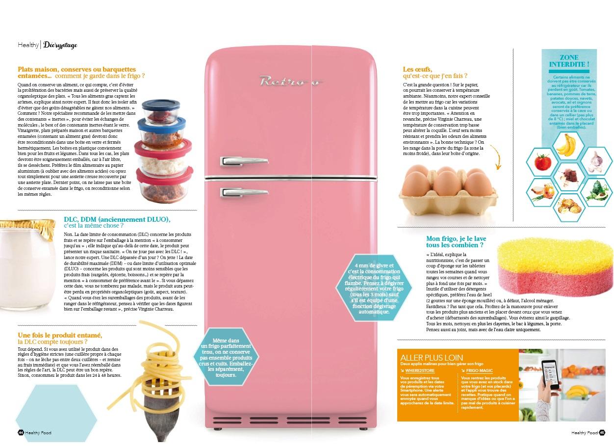 Comment Ranger Dans Un Frigo mon frigo zéro défaut ^^! healthy food magazine mars avril